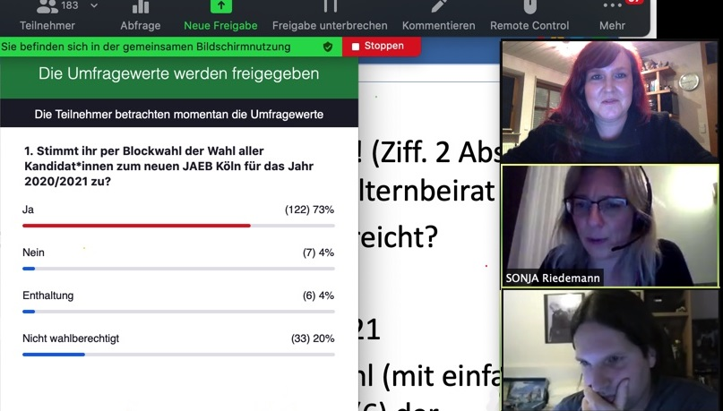 2020-10-22 um 21-15-17 Uhr - Wahlergebnis der Blockwahl zum JAEB 20-21 der Vollversammlung der EBs in Köln