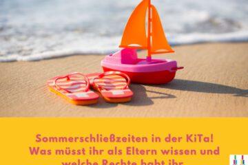 Sommerschließzeit KiTa